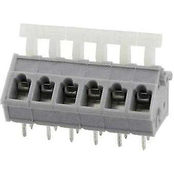 Spring-loaded terminal 3.31 mm² Number of pins 4 DG243-5.0-04P-11-00AH Degson Grey 1 pc(s)