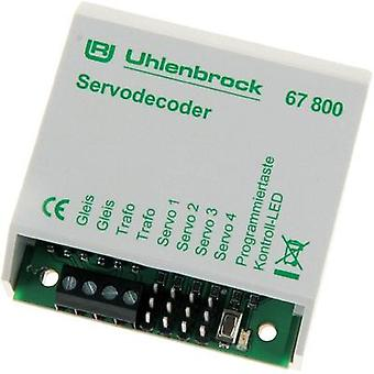 Uhlenbrock 67800 0 Stationary decoder Module, w/o cable, w/o connector