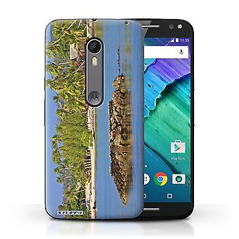 STUFF4 Case/Cover for Motorola Moto X Style/Rocky Island/Thailand Scenery
