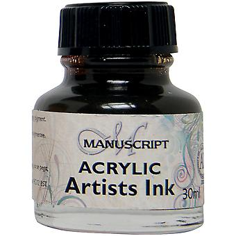 Manuscript Acrylic Artists Ink 30ml-Sepia MDP0-40