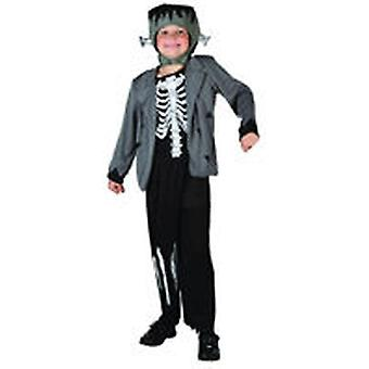 Dimasa Skeleton Monster Costume Size 4-6 Years (Enfants , Jouets , Deguisements)