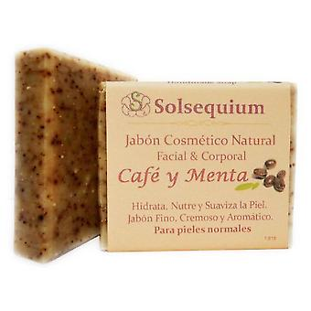 Solsequium Coffee Handmade Soap And Mint 85 Gr