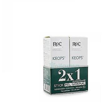 Roc Keops Deodorant Stick Without Alcohol 40 Gr Duplo