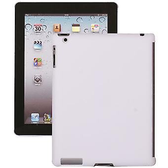 Hård plast dække af høj kvalitet-iPad 2 og 3 (hvid)