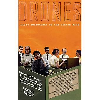 Affiche de film de drones (11 x 17)