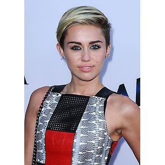 Miley Cyrus At Arrivals For Paranoia Premiere Directors Guild Of America Theatre Los Angeles Ca August 8 2013 Photo By Dee CerconeEverett Collection Celebrity
