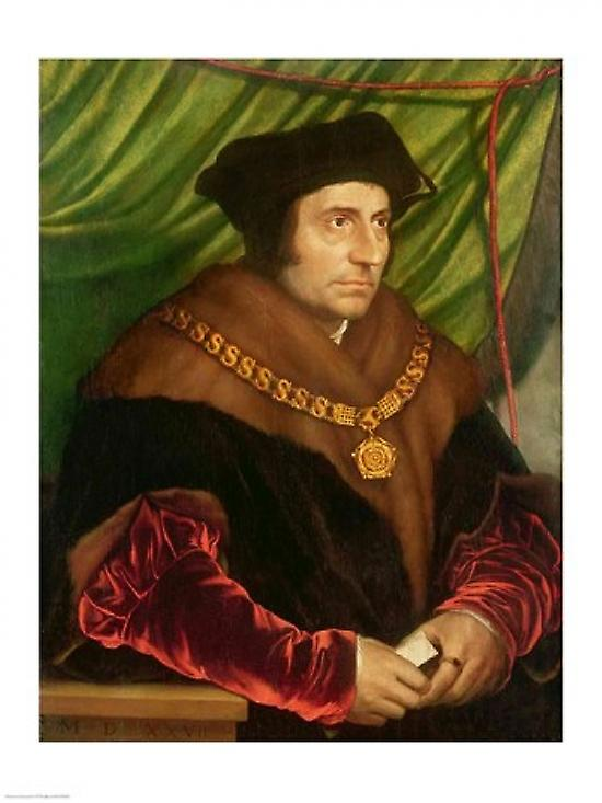 an analysis of the painting sir thomas more a portrait by hans holbein the younger