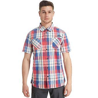 WEIRD FISH Men's Pursan Short Sleeve Shirt