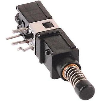 Pushbutton 60 V DC/AC 0.5 A 1 x On/(On) Mentor DRUCKTASTER 15KV 1X UM R-T IP65 momentary 1 pc(s)