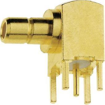 SMB connector Plug, horizontal mount 50 Ω IMS 142.11.1520.003 1 pc(s)