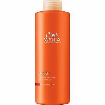 Wella enrichissent Shampooing cheveux normaux pour les cheveux fins Normal