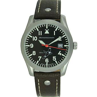 Aristo Messerschmitt mens pilot watch ME 163 163-40 leather