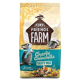 Supreme Tiny Friends Farm Charlie Chinchilla Tasty Mix 850g (Pack of 6)
