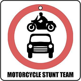 Motorcycle Stunt Team Car Air Freshener
