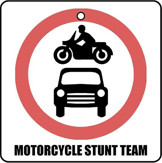 Motorcycle Stunt Team Car Air Freshener