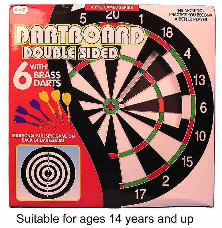 Double Sided Dart Board set