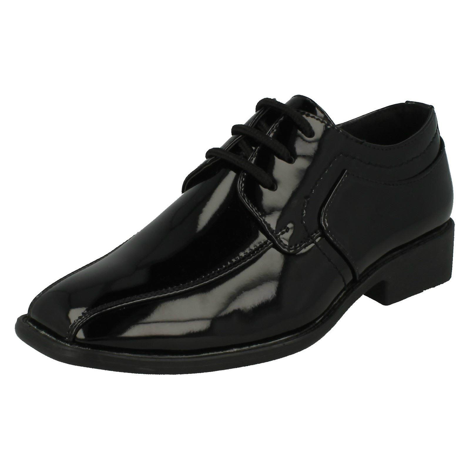 Jungen JCDees trendige Schnürung formale Schuhe N1109