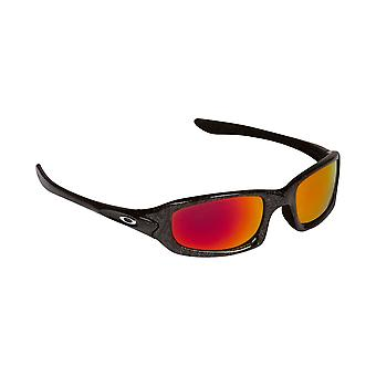 New SEEK Replacement Lenses for Oakley Sunglasses FIVES 4.0 Black Red Mirror