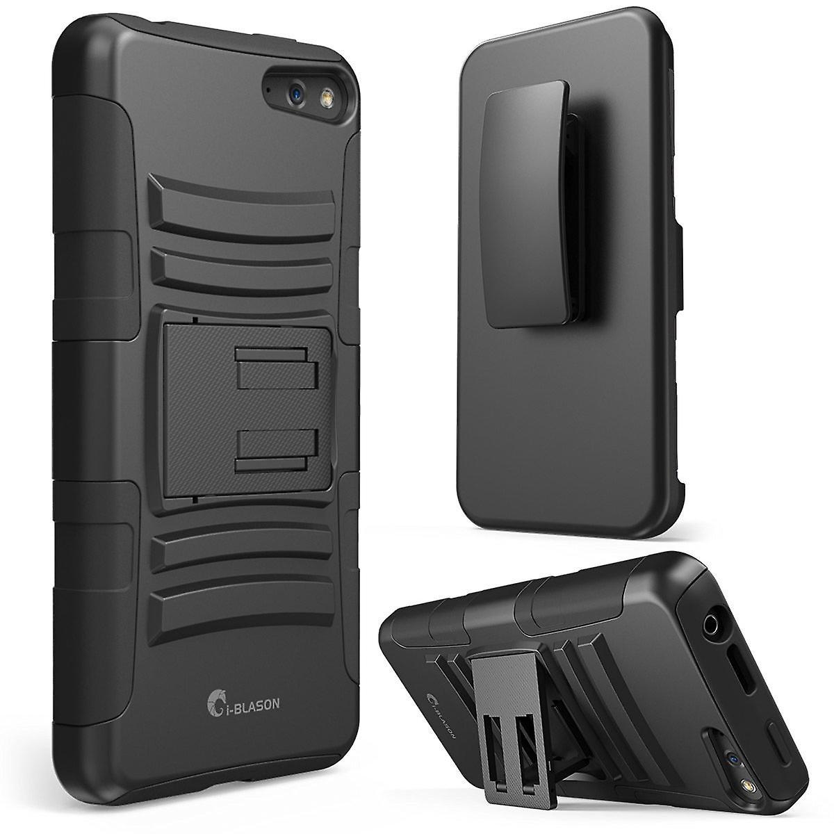 i-Blason Amazon Fire Phone Case - Prime Series Dual Layer Holster Cover - Black