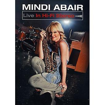 Mindi Abair - Live i Hi-Fi Stereo [DVD] USA import