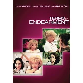 Terms of Endearment [DVD] USA import