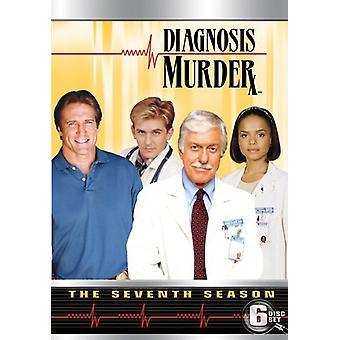 Diagnose mord: Komplet syvende sæson [DVD] USA importerer