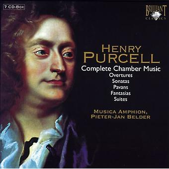 H. Purcell - Purcell: Complete Chamber Music [CD] USA import