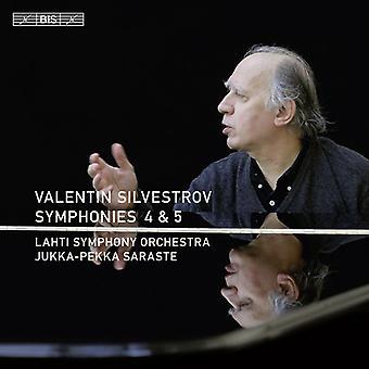 V. Silvestrova - Valentin Silvestrova: Symfonie nr 4 & 5 [CD] USA import