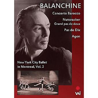 Balanchine: New York City Ballet i Montreal 2 [DVD] USA importerer