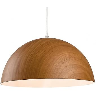 Firstlight Traditional Brown Dome Ceiling Light Pendant