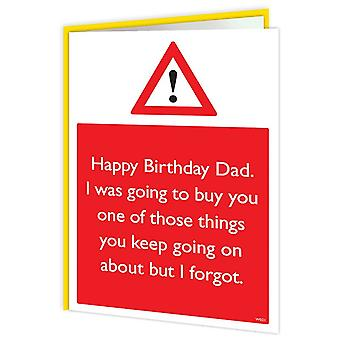 Brainbox Candy I Forgot Dad Card