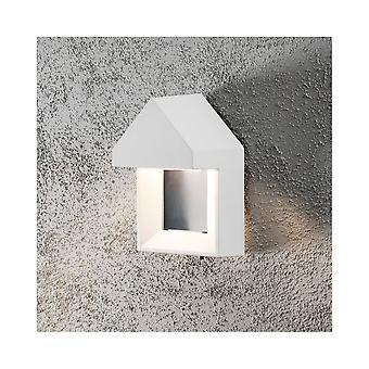 Konstsmide Cosenza moderne Scandavian muur veranda licht wit