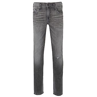 True Religion DGDL Work Concrete Relaxed Skinny Fit Jeans