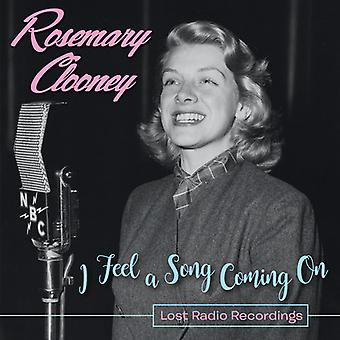 Clooney * rosmarin - jeg føler en sang kommer på - mistede Radio optagelser [CD] USA importerer