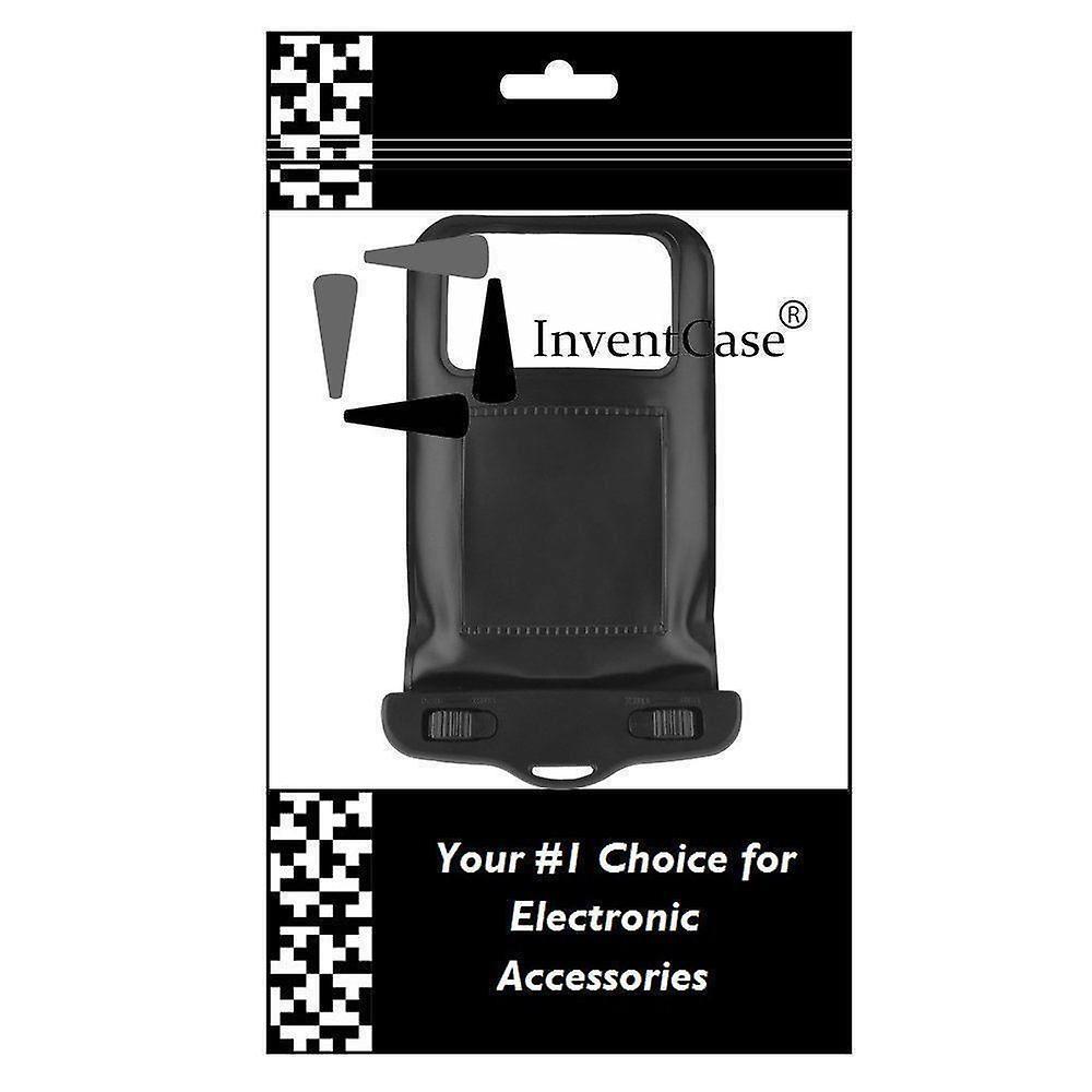 InventCase vattentät dammtät väska fall skyddskåpa för Apple iPhone 8 2017 - svart