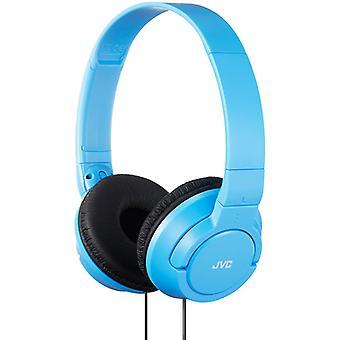 Potentes bajos JVC en la oreja los auriculares - celeste (modelo no. HAS180AN)