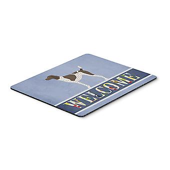 German Shorthaired Pointer Welcome Mouse Pad, Hot Pad or Trivet