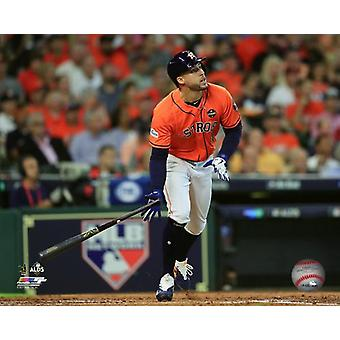 George Springer Home Run Game 2 of the 2017 American League Division Series Photo Print