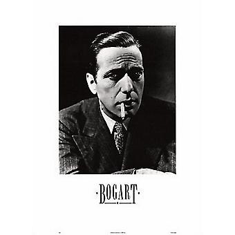 Humphrey Bogart fumando Poster Print (20 x 28)