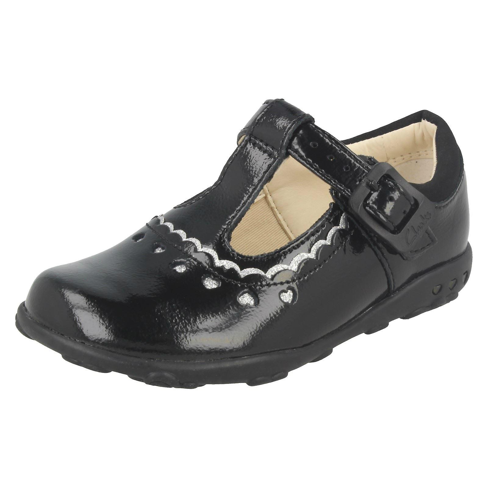 Girls Ella Clarks First T-Bar Shoes Ella Girls Alice<New Market<Men's/Women's 7ac194