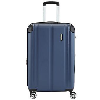 Travelite city 4 wheels ABS hard shell trolley 4 wheel suitcase 77 cm L