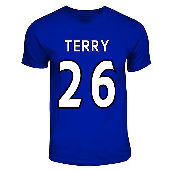 John Terry Chelsea held T-shirt (royal blauw)