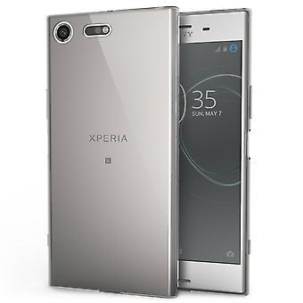 Sony Xperia XZ Premium Slim TPU Gel - ahumado negro