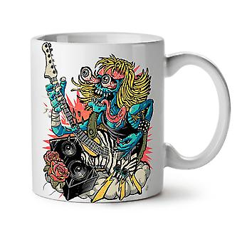 Rock Band Guitar Music NEW White Tea Coffee Ceramic Mug 11 oz | Wellcoda