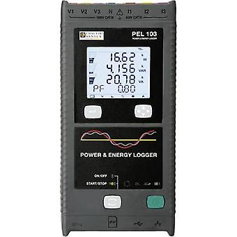 Chauvin Arnoux PEL103+ Mains-analysis device, Mains analyser, P01157151 Calibrated to Manufacturer's standards (no cer