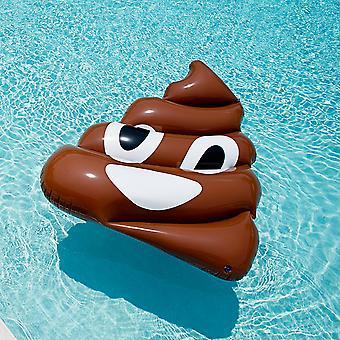 Gigante inflable caca de Emoji Floatie