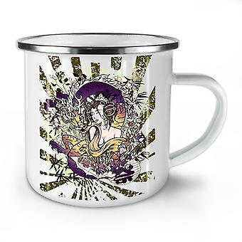 Dragon Japan Asia Fantasy NEW WhiteTea Coffee Enamel Mug10 oz | Wellcoda