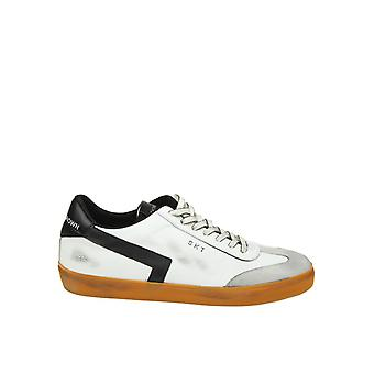 Leather Crown men's MLC792 black leather of sneakers