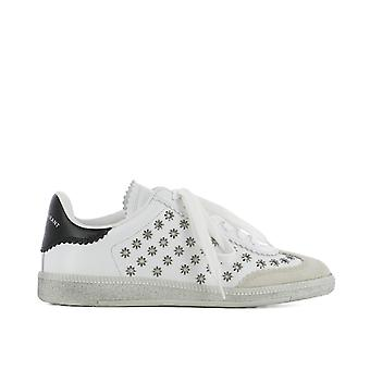 Isabel Marant women's BK002918P032S20WH White leather of sneakers
