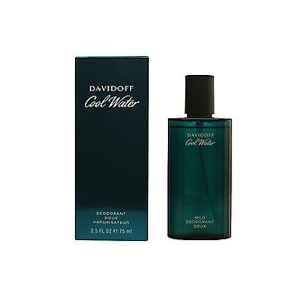 Davidoff Cool Water Deo Vapo 75ml Mens nuova fragranza profumo profumo sigillato in scatola